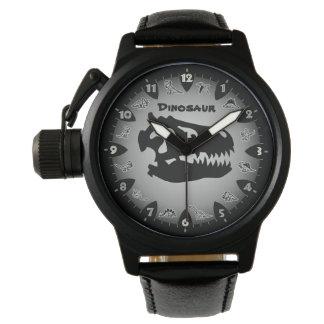 Bedrock Grey Dinosaur Watch