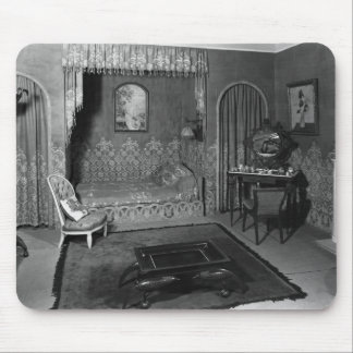 Bedroom belonging to Jeanne Lanvin  c.1920-25 Mouse Mat