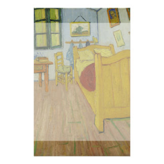 Bedroom in Arles by Vincent Van Gogh Flyers