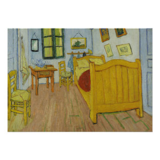 Bedroom in Arles by Vincent Van Gogh Custom Announcements
