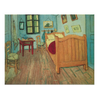 Bedroom in Arles by Vincent van Gogh Poster