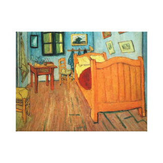 Bedroom in Arles Gallery Wrapped Canvas