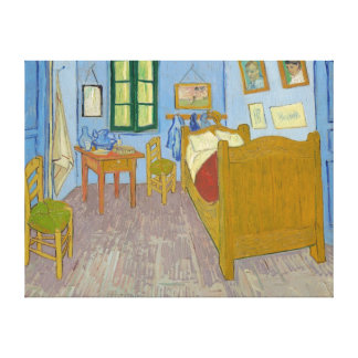 Bedroom in Arles Vincent Van Gogh Stretched Canvas Print