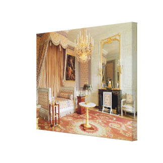 Bedroom in the Grand Trianon photo Stretched Canvas Print