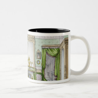Bedroom in the Renaissance style (colour litho) Two-Tone Coffee Mug