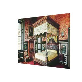 Bedroom of Henri II  and Diane de Poitiers Canvas Print