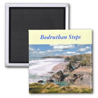 Bedruthan Steps, Cornwall Magnet