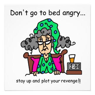 Bedtime Humor Personalized Invites