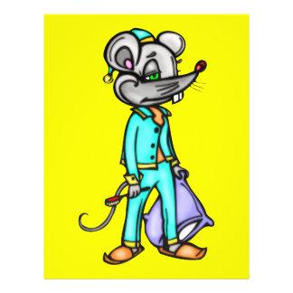 Bedtime Mouse 21.5 Cm X 28 Cm Flyer