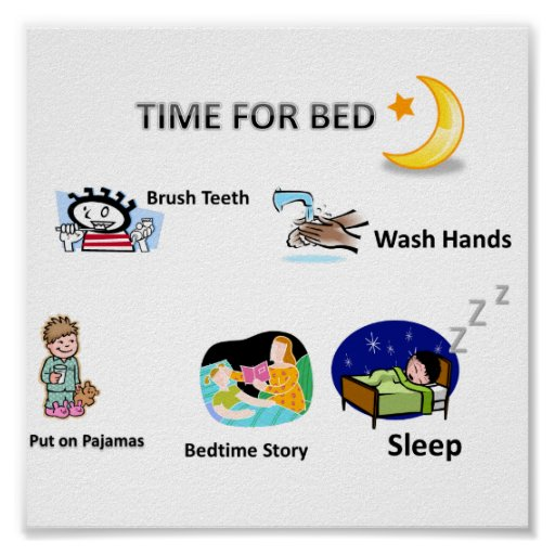 Bedtime_visual_picture_schedule_used_by_our_loved_poster 228634379230854990 on My Bedtime Routine