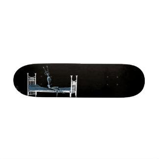 Bedtime X-Ray Skeleton Black Blue Skate Boards