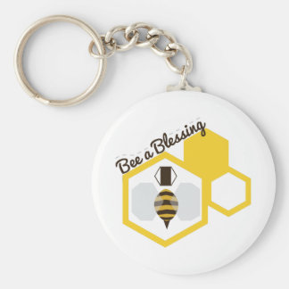 Bee A Blessing Key Ring