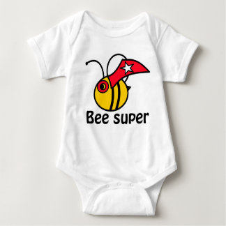 Bee a superhero! baby bodysuit