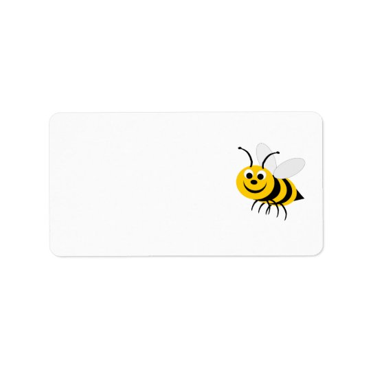 Bee Address Label