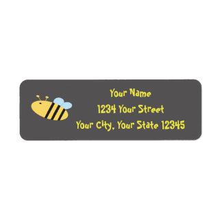 Bee Address Label