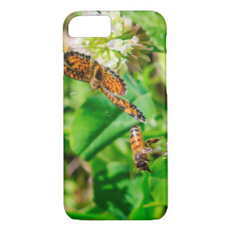 Bee and Butterfly iPhone 7 Case