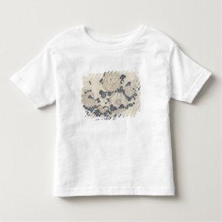 Bee and chrysanthemums toddler T-Shirt