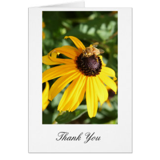 Bee and Daisy Thank you Card