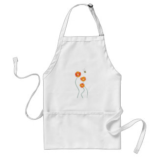 Bee And Flowers Aprons