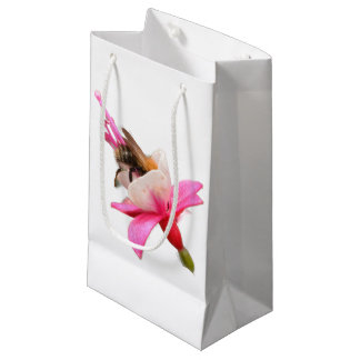 Bee and Fuchsia Small Gift Bag