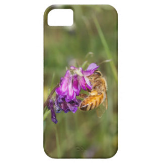 Bee and spring flowers barely there iPhone 5 case