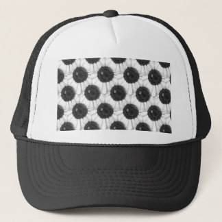 Bee and Sunflower Sketch Design Trucker Hat