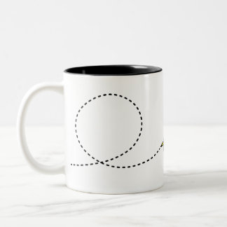 Bee-ast the Bee - 325ml Two Tone Mug