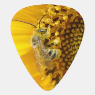 Bee At Work Guitar Pick