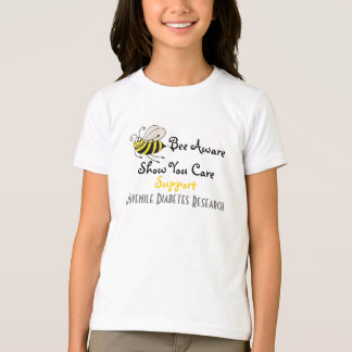 Bee Aware - Juvenile Diabetes T-shirt