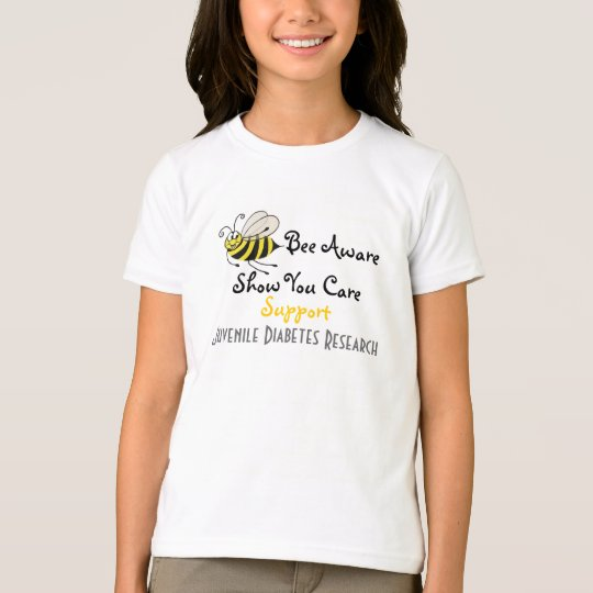 Bee Aware - Juvenile Diabetes T-shirt