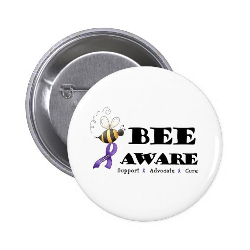Bee Aware - Lupus Awareness Pins