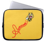 Bee Awesome Laptop Computer Sleeves