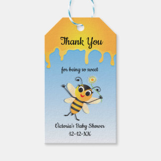Bee Baby Shower Favor tags