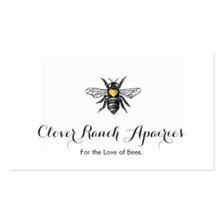 Bee Beekeeping Apairy Bumblebee Nature Pack Of Standard Business Cards