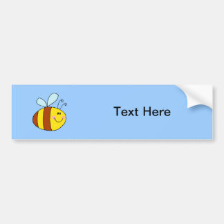 Bee Bees Bug Bugs Insect Cute Cartoon Animal Bumper Sticker