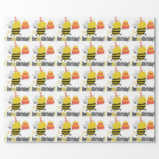 Bee Bop A Birthday Wrapping Paper