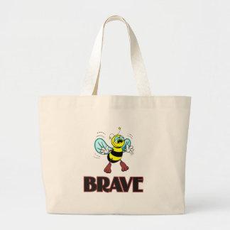 BEE BRAVE TOTE BAG
