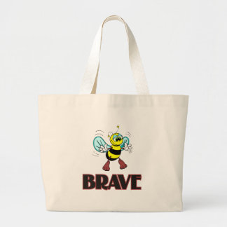BEE BRAVE LARGE TOTE BAG