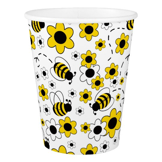 Bee Bumblebee Girl Baby Shower Birthday Party Paper