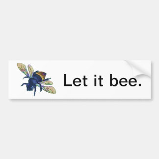 Bee Bumper Sticker