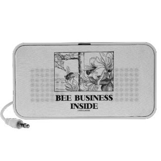 Bee Business Inside Bees Foraging Nectar iPhone Speaker