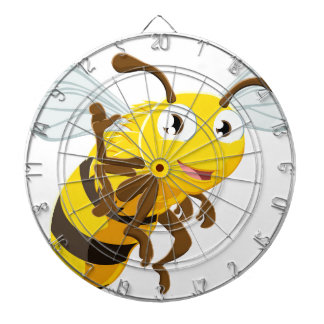 Bee Cartoon Character Dartboard