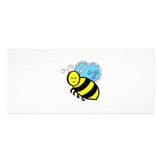 Bee cartoon rack card design