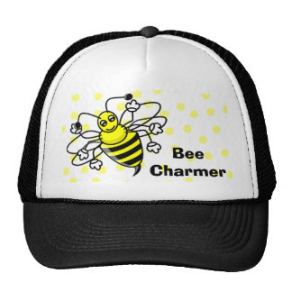 Bee Charmer Cap Trucker Hats