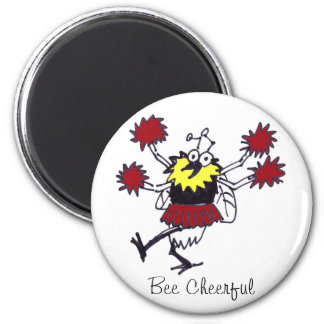 Bee Cheerful Magnet