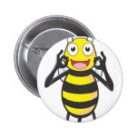 Bee Chef Happy about his Cook Pin