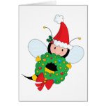 Bee Christmas Greeting Cards