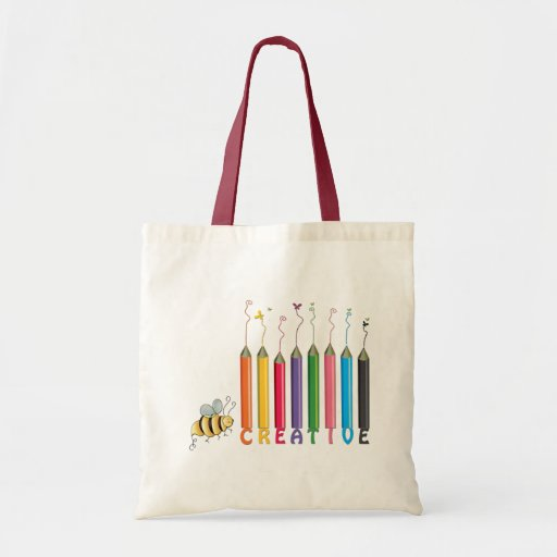Bee Creative Canvas Bags