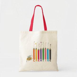 Bee Creative Tote Bag