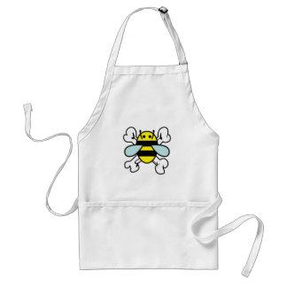 bee & cross bones standard apron